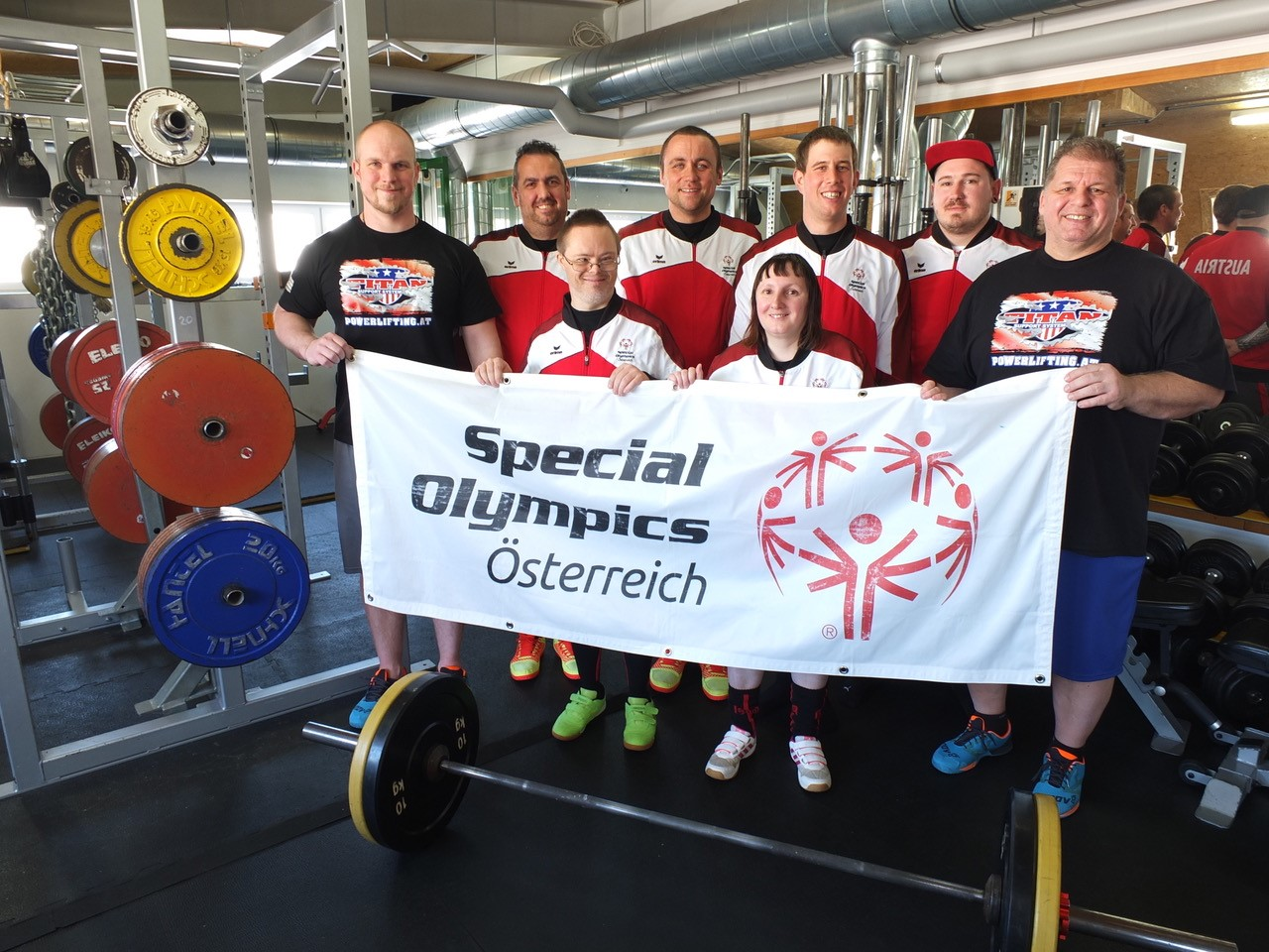 Special Olympics Kraftdreikampf